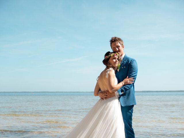 Le mariage de Julien et Laëtitia à Biscarrosse, Landes 56