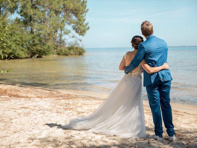 Le mariage de Julien et Laëtitia à Biscarrosse, Landes 57