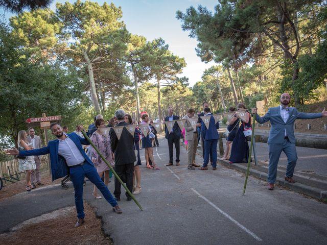 Le mariage de Julien et Laëtitia à Biscarrosse, Landes 62