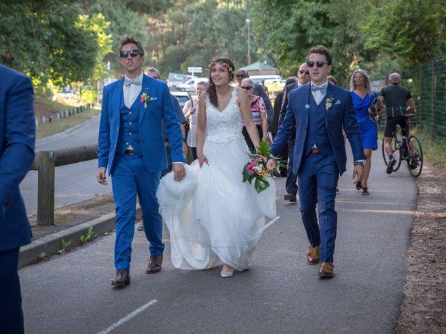 Le mariage de Julien et Laëtitia à Biscarrosse, Landes 63