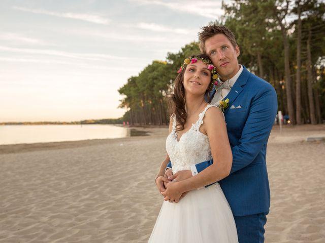 Le mariage de Julien et Laëtitia à Biscarrosse, Landes 77