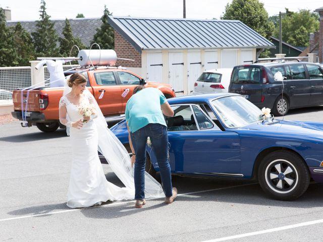 Le mariage de Damien et Aurore à Épagne-Épagnette, Somme 50