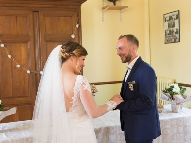 Le mariage de Damien et Aurore à Épagne-Épagnette, Somme 53