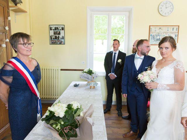 Le mariage de Damien et Aurore à Épagne-Épagnette, Somme 59