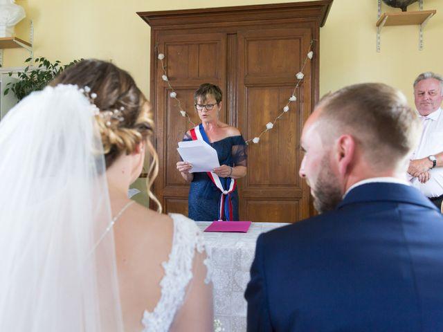 Le mariage de Damien et Aurore à Épagne-Épagnette, Somme 62