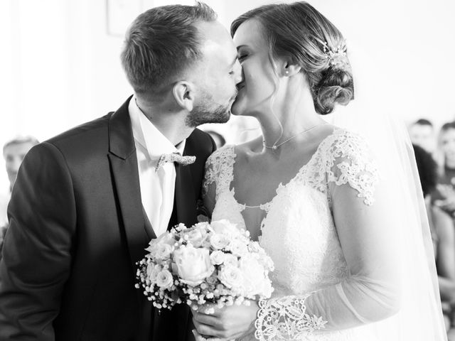Le mariage de Damien et Aurore à Épagne-Épagnette, Somme 63