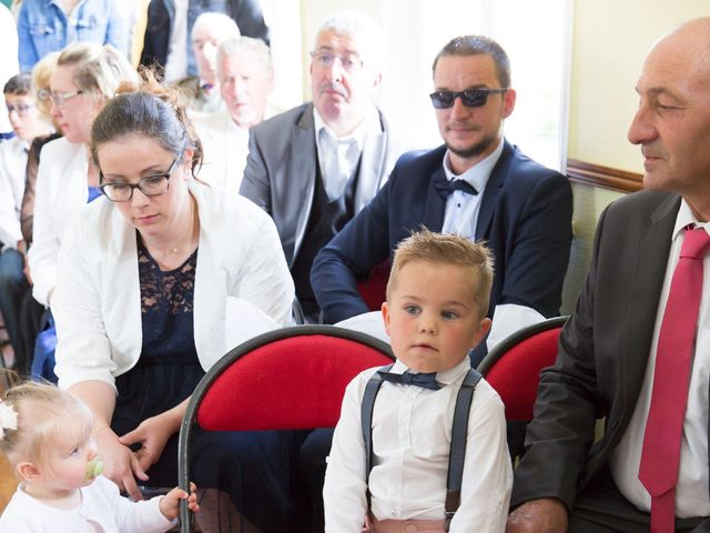 Le mariage de Damien et Aurore à Épagne-Épagnette, Somme 65