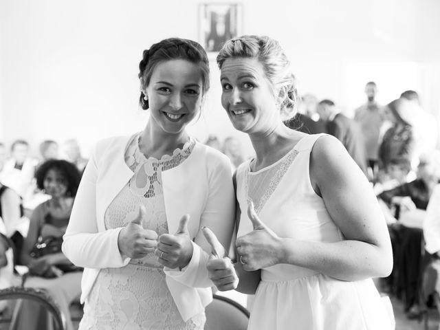 Le mariage de Damien et Aurore à Épagne-Épagnette, Somme 75