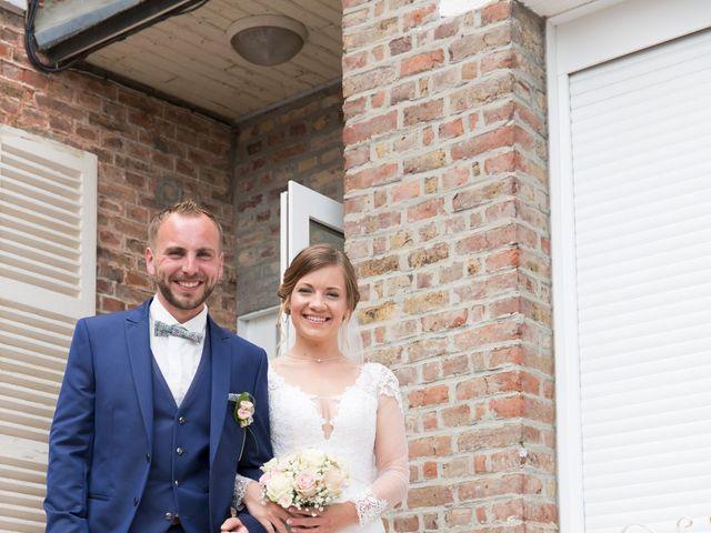 Le mariage de Damien et Aurore à Épagne-Épagnette, Somme 80