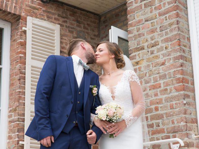 Le mariage de Damien et Aurore à Épagne-Épagnette, Somme 81