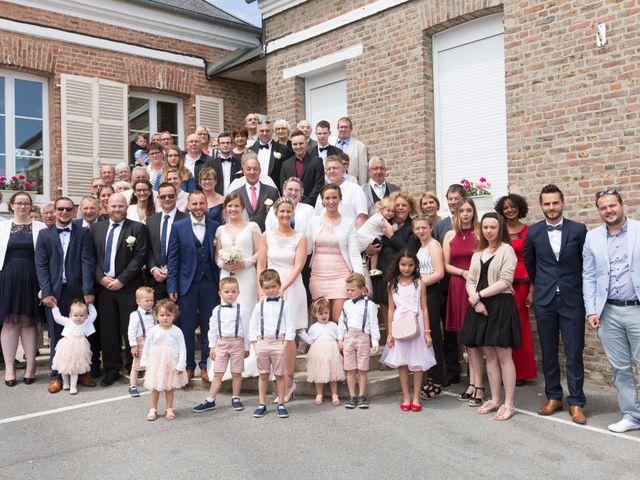 Le mariage de Damien et Aurore à Épagne-Épagnette, Somme 83