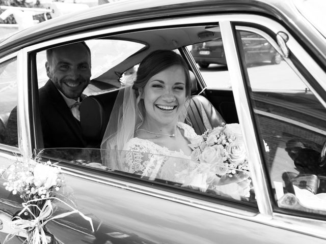 Le mariage de Damien et Aurore à Épagne-Épagnette, Somme 84