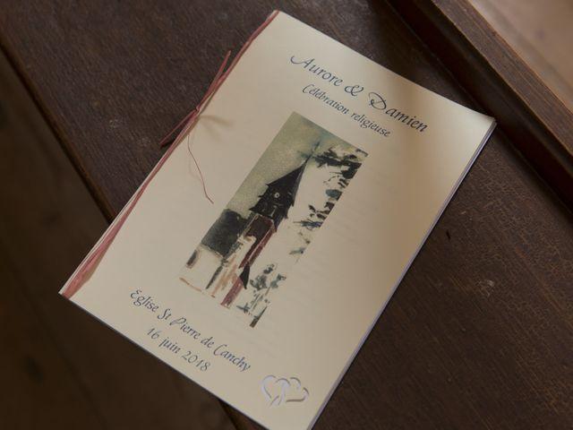 Le mariage de Damien et Aurore à Épagne-Épagnette, Somme 87