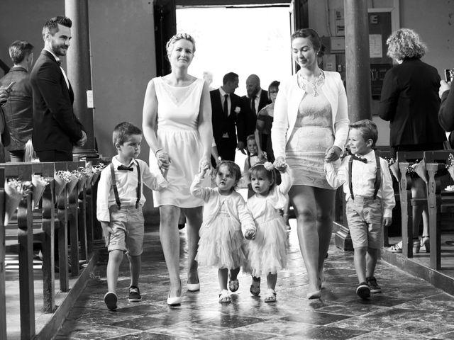 Le mariage de Damien et Aurore à Épagne-Épagnette, Somme 92