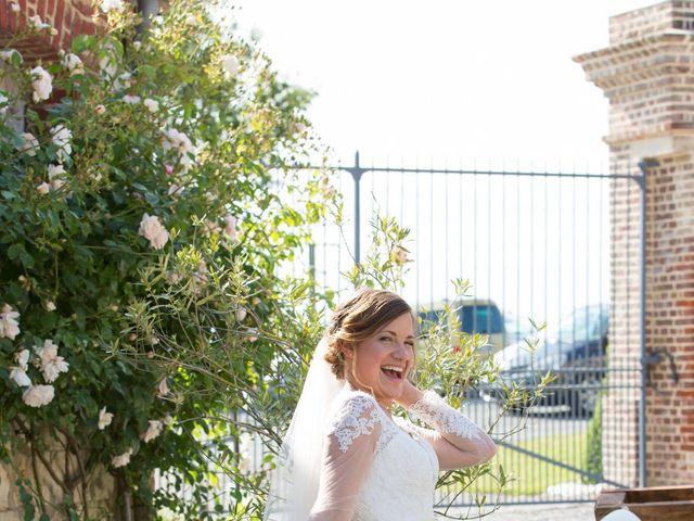 Le mariage de Damien et Aurore à Épagne-Épagnette, Somme 164