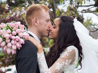 Le mariage de Hajar et Pierre