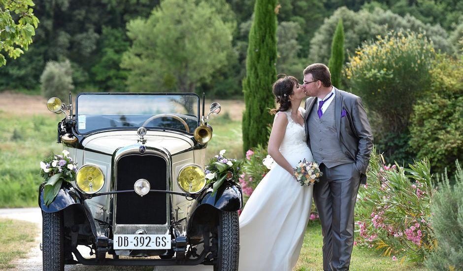 Le mariage de Alexis et Mélanie à Bouchet, Drôme