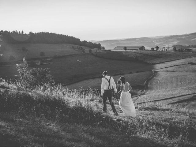Le mariage de Robin et Morgane à Amplepuis, Rhône 1