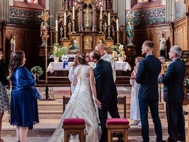 Le mariage de Sylvain et Magalie à Niederhergheim, Haut Rhin 14