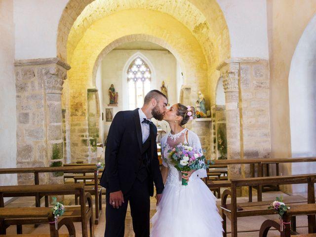 Le mariage de Yann et Mathilde à Ambon, Morbihan 8