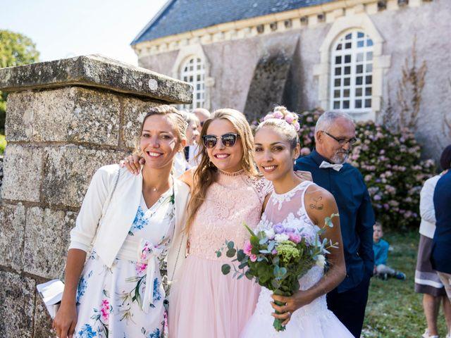 Le mariage de Yann et Mathilde à Ambon, Morbihan 11