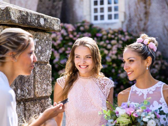 Le mariage de Yann et Mathilde à Ambon, Morbihan 12