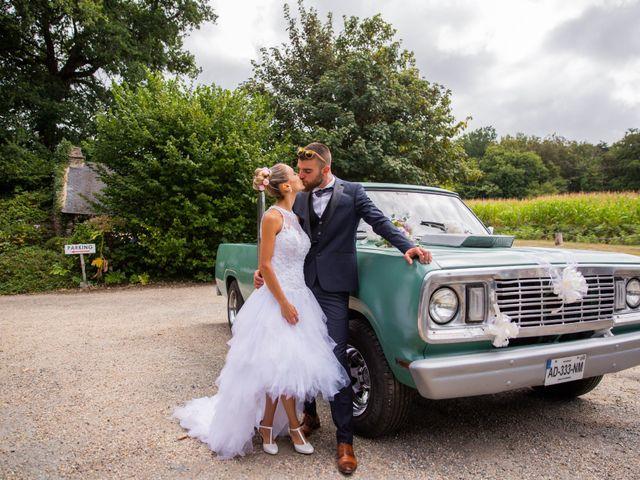 Le mariage de Yann et Mathilde à Ambon, Morbihan 17