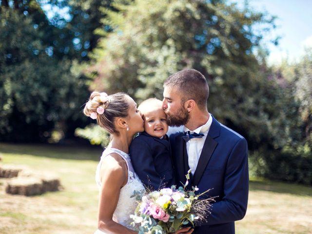 Le mariage de Yann et Mathilde à Ambon, Morbihan 18