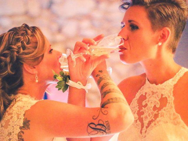 Le mariage de Priscilia  et Jennifer à Buzet-sur-Baïse, Lot-et-Garonne 9