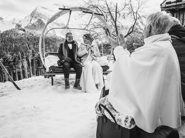 Le mariage de Laurent et Naïg à Le Reposoir, Haute-Savoie 17