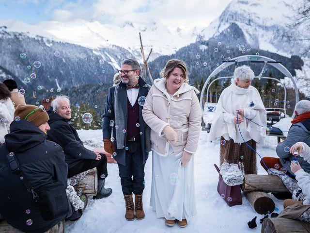 Le mariage de Laurent et Naïg à Le Reposoir, Haute-Savoie 19