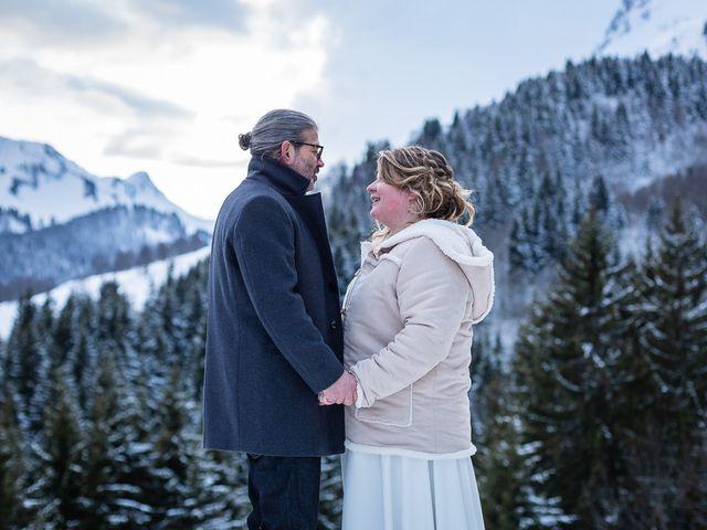 Le mariage de Laurent et Naïg à Le Reposoir, Haute-Savoie 21