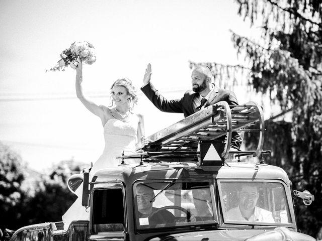 Le mariage de Jerôme et Ana à Saint-Étienne-sur-Reyssouze, Ain 23