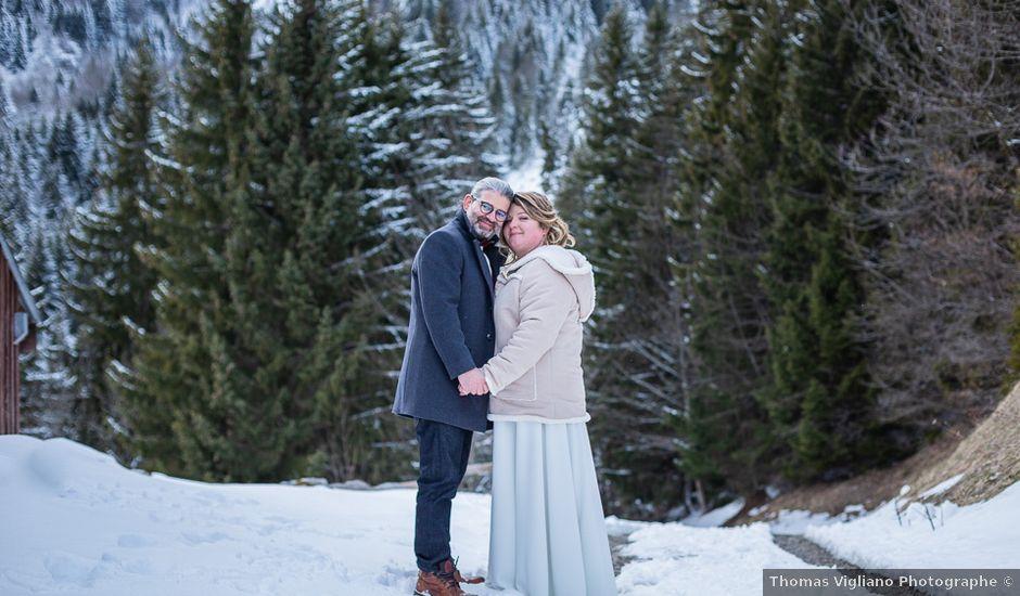 Le mariage de Laurent et Naïg à Le Reposoir, Haute-Savoie