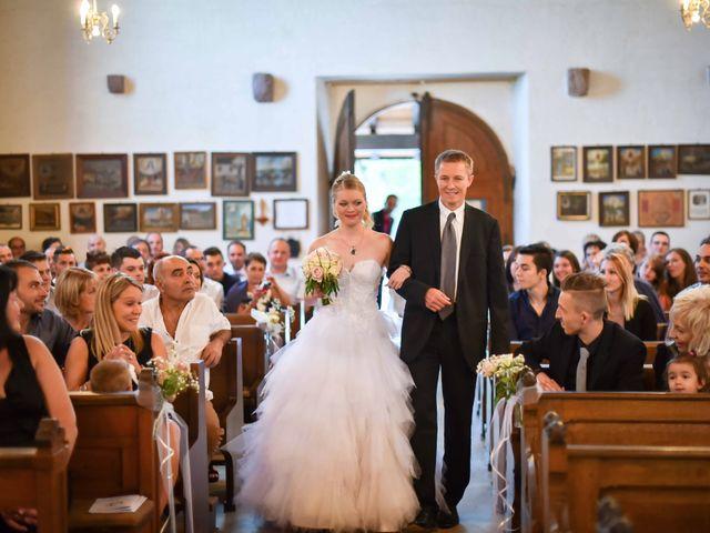 Le mariage de Lionel et Caroline à Pfaffenheim, Haut Rhin 11