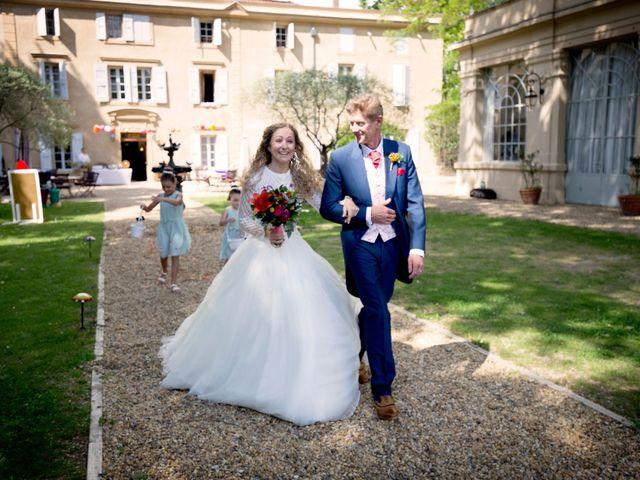Le mariage de Sean et Zara à Saint-Pargoire, Hérault 6