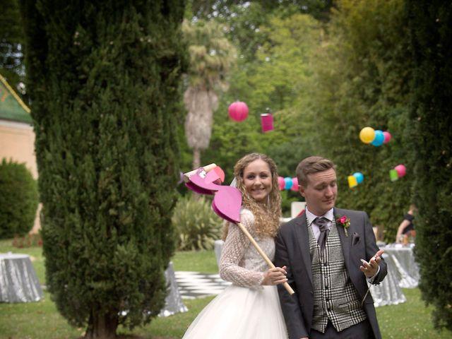 Le mariage de Sean et Zara à Saint-Pargoire, Hérault 56