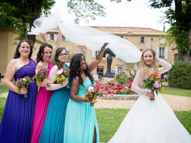 Le mariage de Sean et Zara à Saint-Pargoire, Hérault 66
