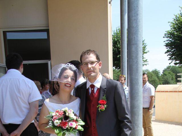 Le mariage de Mathieu et Marie Laure à Fillé, Sarthe 3