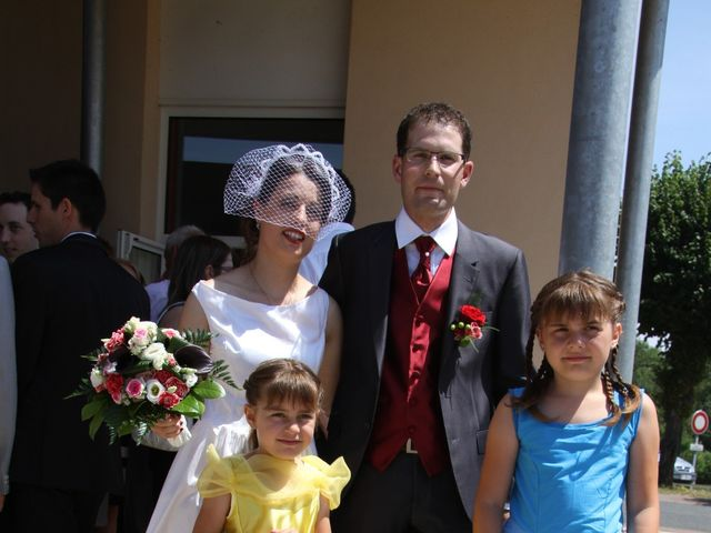 Le mariage de Mathieu et Marie Laure à Fillé, Sarthe 4
