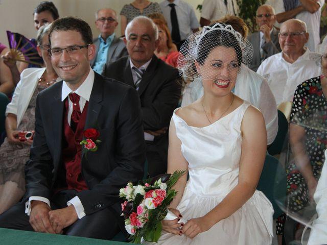 Le mariage de Mathieu et Marie Laure à Fillé, Sarthe 1