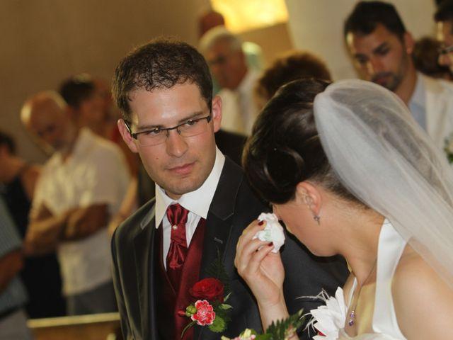 Le mariage de Mathieu et Marie Laure à Fillé, Sarthe 8