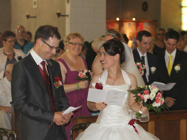 Le mariage de Mathieu et Marie Laure à Fillé, Sarthe 10