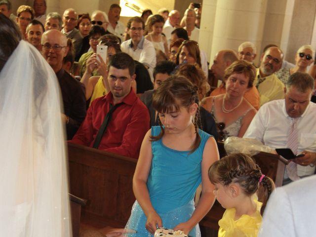 Le mariage de Mathieu et Marie Laure à Fillé, Sarthe 12