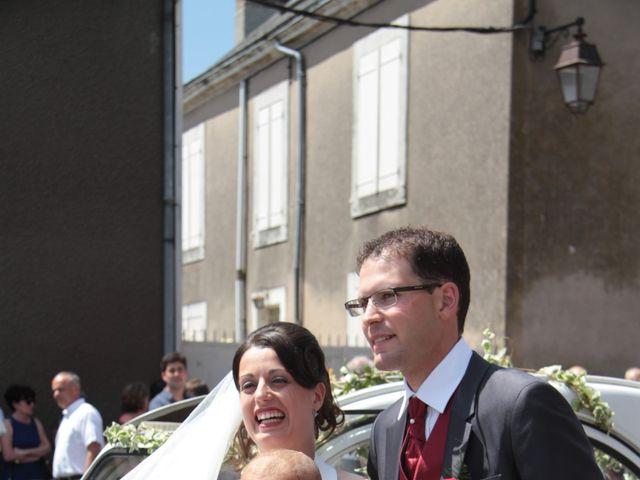 Le mariage de Mathieu et Marie Laure à Fillé, Sarthe 16