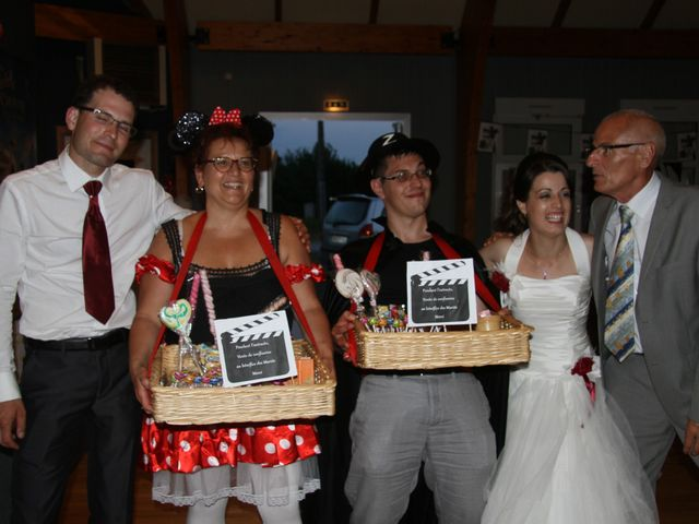 Le mariage de Mathieu et Marie Laure à Fillé, Sarthe 41