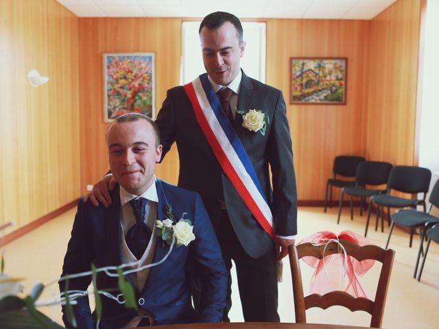 Le mariage de Alban et Olivia à Saint-Laurent-les-Églises, Haute-Vienne 50