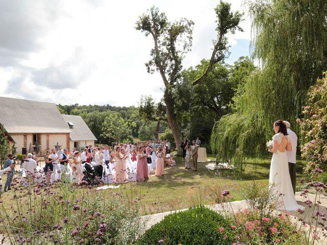 Le mariage de Daphné et Daniel à Hébécourt, Eure 12