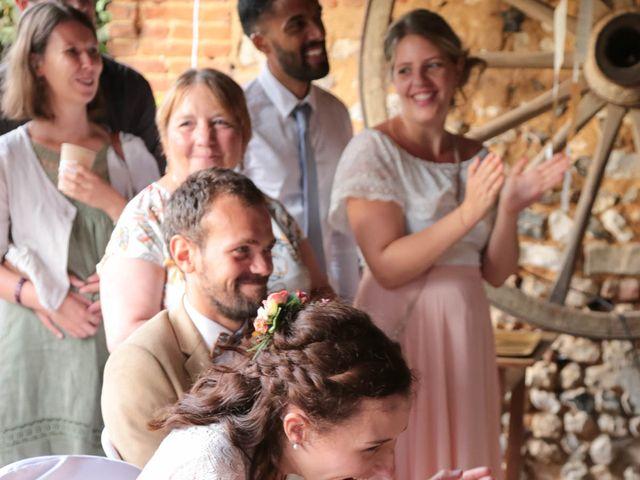 Le mariage de Daphné et Daniel à Hébécourt, Eure 54