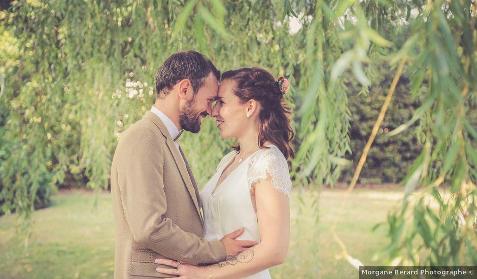 Le mariage de Daphné et Daniel à Hébécourt, Eure